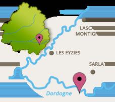 carte Dordogne